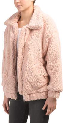Juniors Australian Brand Zip Teddy Jacket