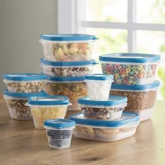 Wayfair Basics Wayfair Basics Plastic 12 Container Food Storage Set