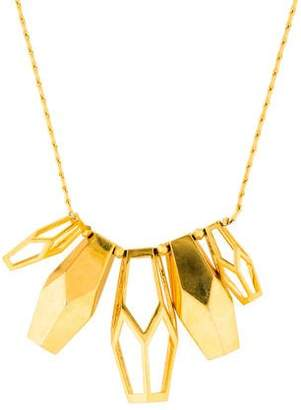 Eddie Borgo Geometric Collar Necklace