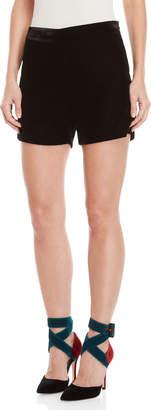 Blugirl Velvet Shorts