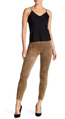 Hue Laser Cut Microsuede Leggings