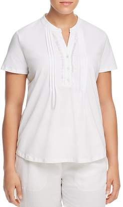 Marina Rinaldi Zagabria Pleated Blouse