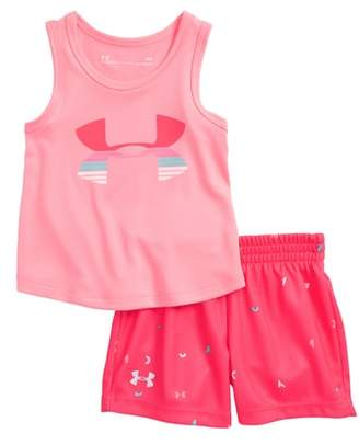 Under Armour Scramble Logo HeatGear(R) Tank & Mesh Shorts Set