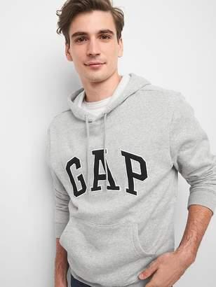 Gap Logo fleece pullover hoodie