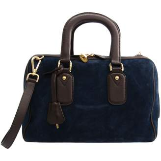 J&M Davidson J & M Davidson Navy Leather Handbags