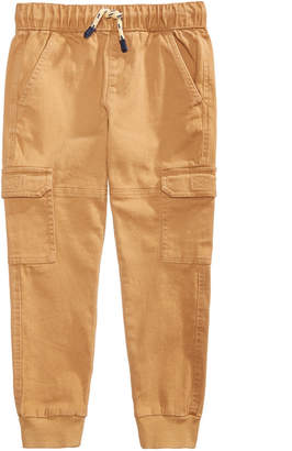 Epic Threads Toddler Boys Canvas Cargo-Style Jogger Pants, Created for Macy's