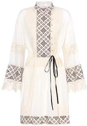 Tory Burch Carlotta lace-trimmed cotton dress