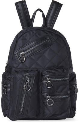Imoshion Black Quilted Stella Backpack