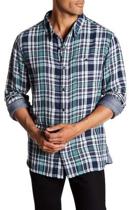 Velvet by Graham & Spencer Front Button Plaid Woven Shirt