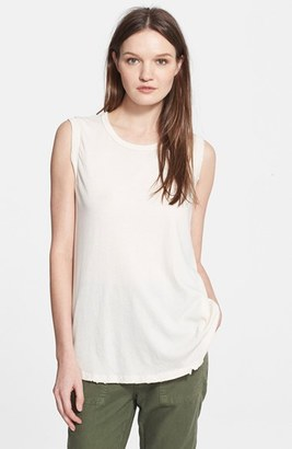 Women's The Great. 'The Sleeveless' Crewneck Tank $115 thestylecure.com
