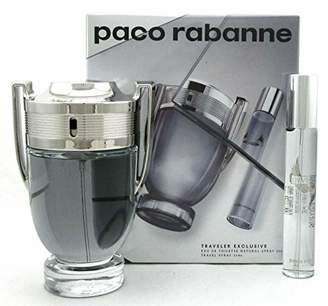 Paco Rabanne Invictus 2 Pc Travel Set Edt 3.4 Oz