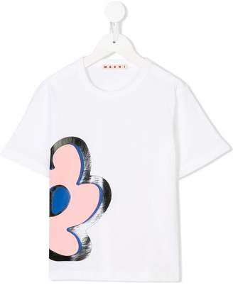 Marni flower patch T-shirt