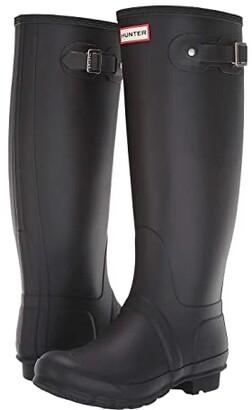 Hunter Tall Wide Leg Rain Boots