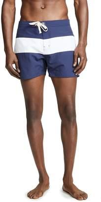 d963801de7 Saturdays NYC White Men's Swimsuits - ShopStyle