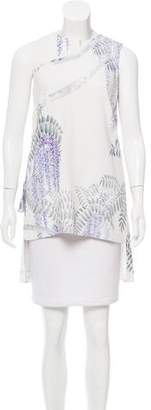 ADAM by Adam Lippes Floral Sleeveless Top