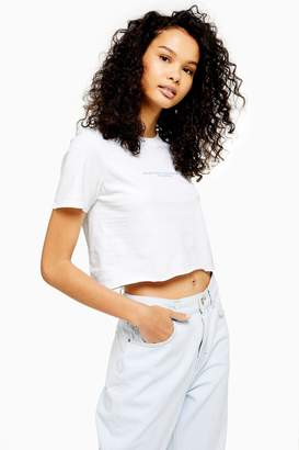 Topshop Everything Crop T-Shirt