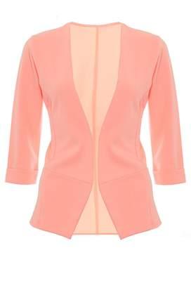 Quiz Coral 3/4 Sleeve Turn Up Jacket