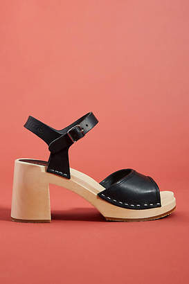 Swedish Hasbeens Inger Clog Sandals