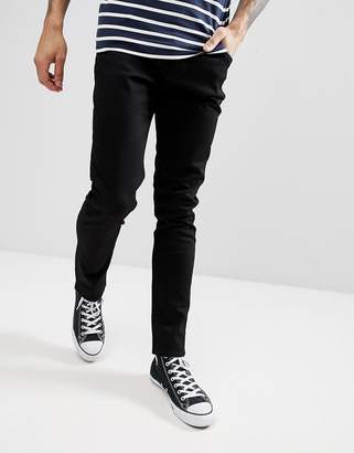 Weekday Friday Black Skinny Jeans