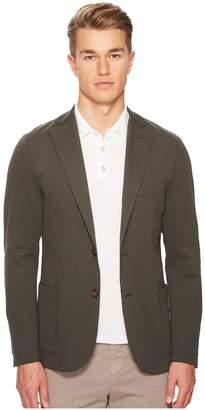 Eleventy Laser Cut Jersey Blazer