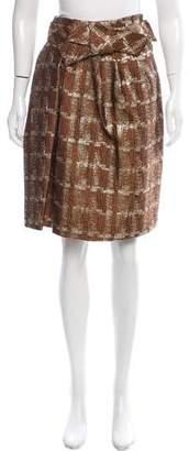 Marni Brocade Knee-Length Skirt