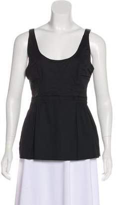 Prada Sport Scoop Neck Sleeveless Top