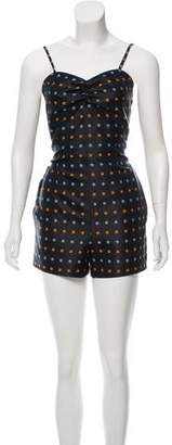Maison Margiela Patterned Sleeveless Romper