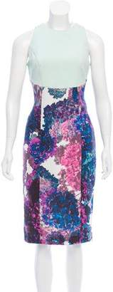 Nha Khanh Floral Midi Dress
