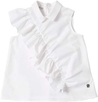 Simonetta Cotton Poplin Shirt