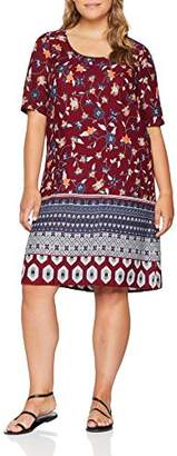 Junarose Women's Jrhivas Zeenan 2/4 Sl Above Knee Dress K Rumba Red, (Manufacturer Size: 50)