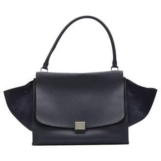 Celine Trapèze leather tote