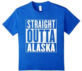 Alaska T-Shirt - STRAIGHT OUTTA ALASKA Shirt