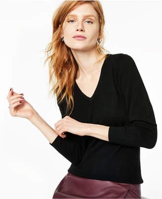 Charter Club V-Neck Cashmere Sweater, Regular & Petite Sizes