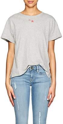 Rag & Bone Women's Star-Embroidered Cotton T-Shirt