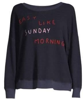 Sundry Easy Like Sunday Morning Bubble Sweater