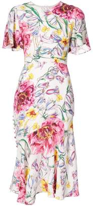 Prabal Gurung floral dress