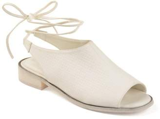 Brinley Co. Womens Faux Nubuck Slingback Open-toe Sandals