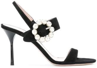 Miu Miu slingback sandals
