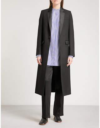 Joseph Tuxedo-style wool coat