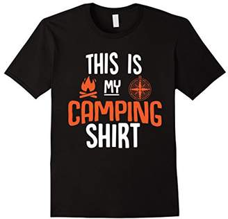 Fun Camping Wilderness Site Shirt for Campers Who Camp Tee
