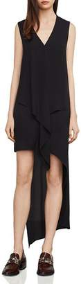BCBGMAXAZRIA Tara Cascade Essential Ruffle Dress