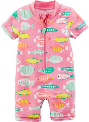 Carter's Animal One Piece Swimsuit Baby Girls