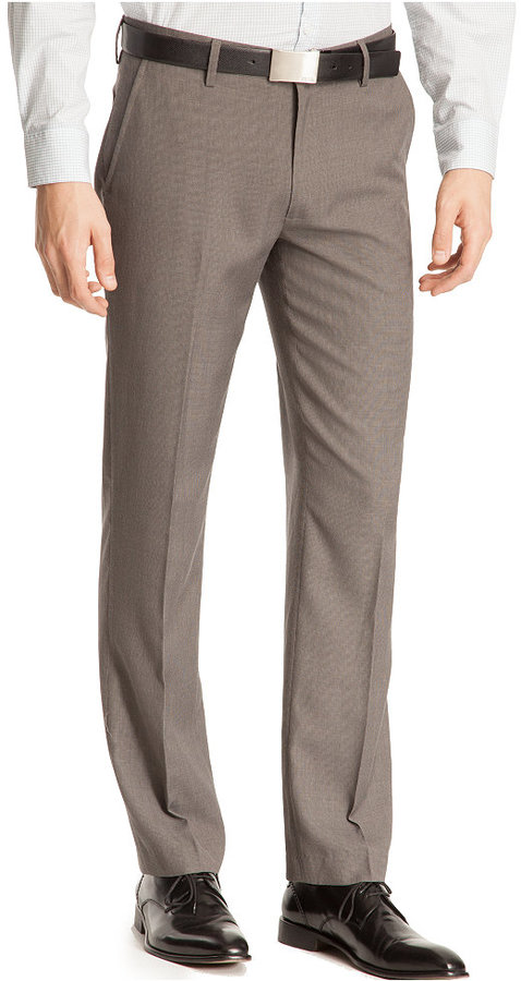 Kenneth Cole Reaction Core Micro-Checked Pants