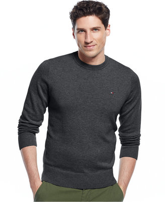 Tommy Hilfiger Signature Solid Crew-Neck Sweater $49.98 thestylecure.com