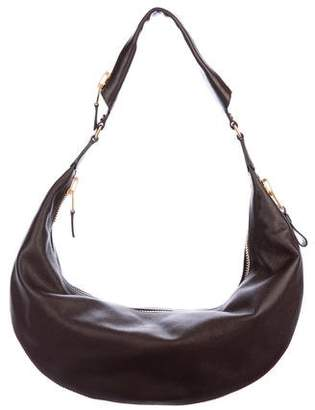 Tom Ford Leather Zip Hobo