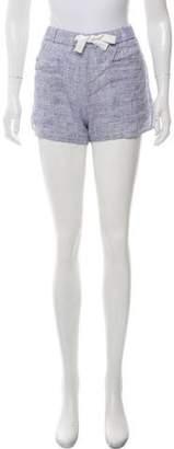 Solid & Striped Linen Mini Shorts