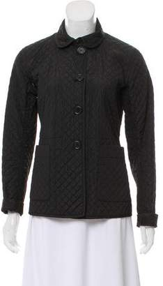 Prada Sport Quilted Cutout Jacket