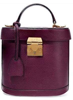 Mark Cross Benchley Pebbled-Leather Shoulder Bag
