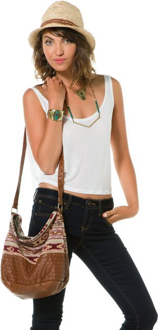 O'Neill Penelope Cross Body Bucket Bag