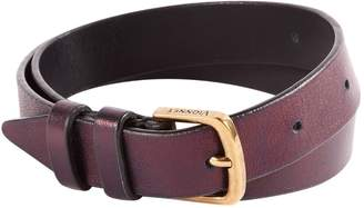 Vionnet Purple Leather Belts
